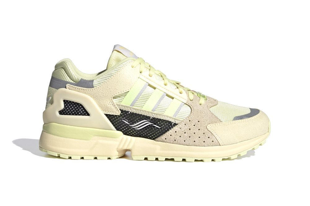 adidas ZX 10000 Yellow Tint Right