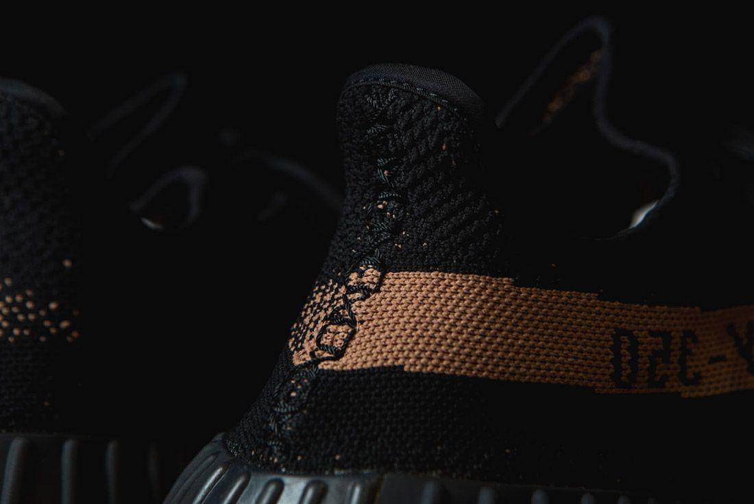 Adidas Originals Yeezy Boost 350 V2 Black Copper Solar Red Green 15