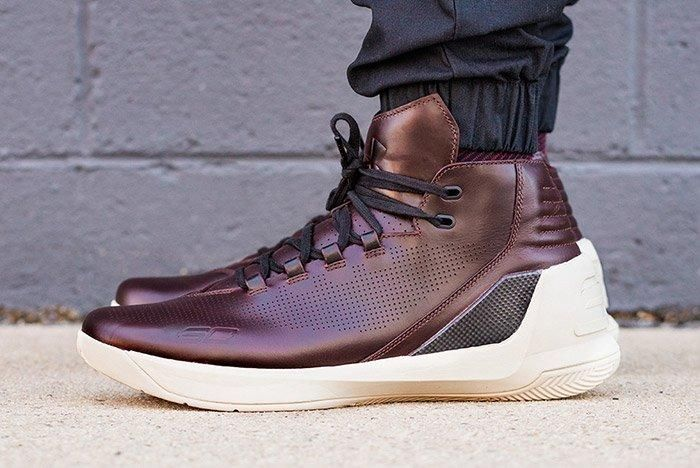 Under Armour Curry Lux Oxblood 2