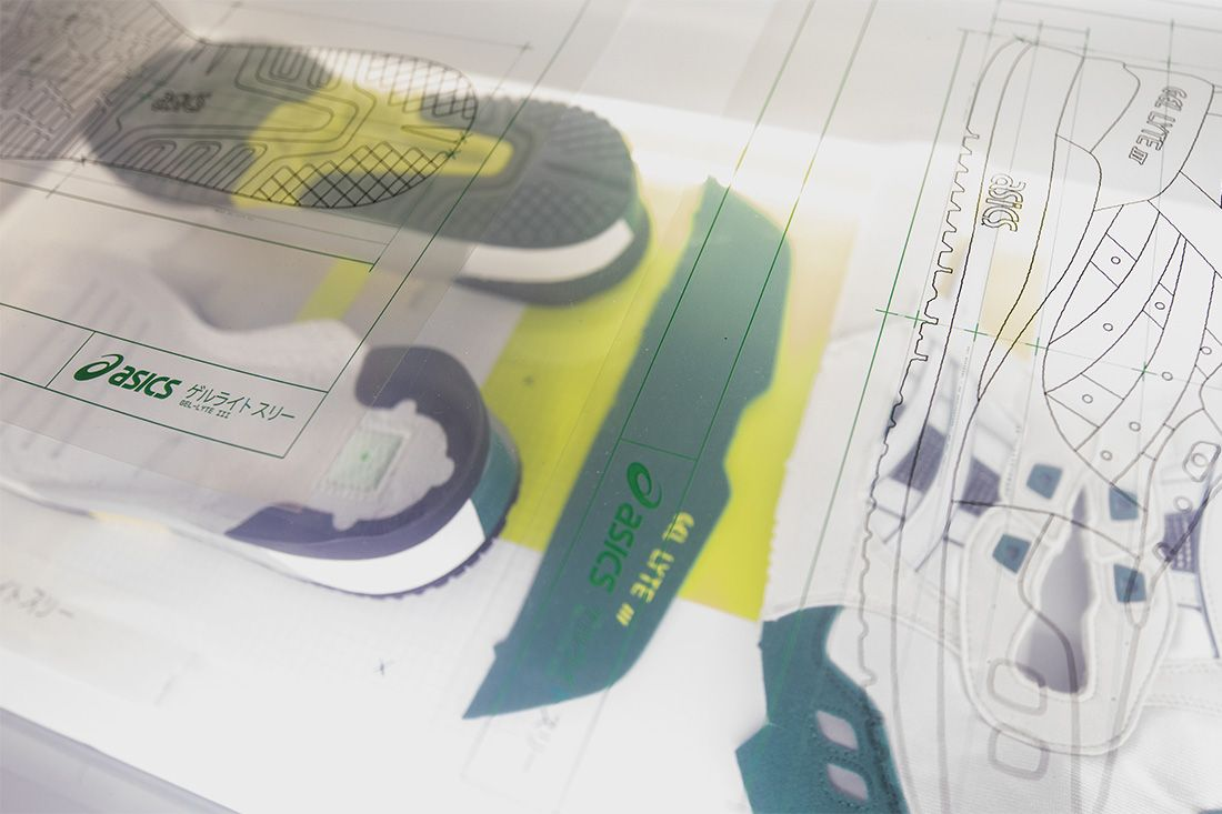 Asics Gel Lyte Iii Shigeyuki Mitsui Design Studio Recreation 16 Backlight