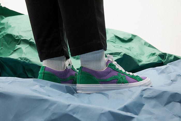 Golf Le Fleur Converse Tyler The Creator Two Tone Uno Closer Look 08 Sneaker Freaker