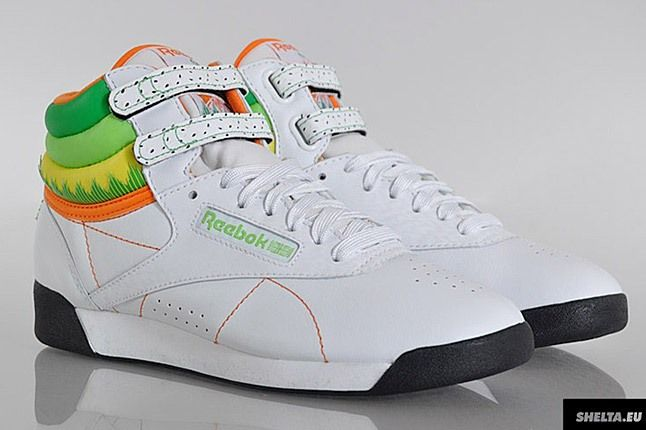 Reebok Freestyle Hi Sushi International 3 1