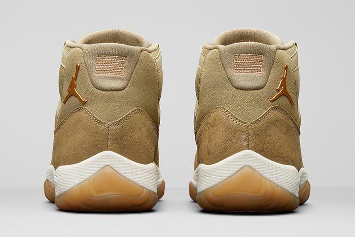 Air Jordan 11 Wmns Olive Luxe Release 4