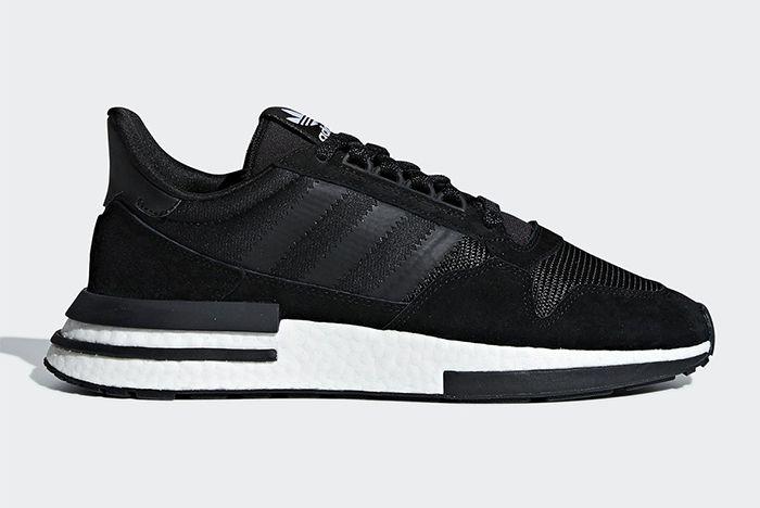 Adidas Zx500 Rm Black White 1