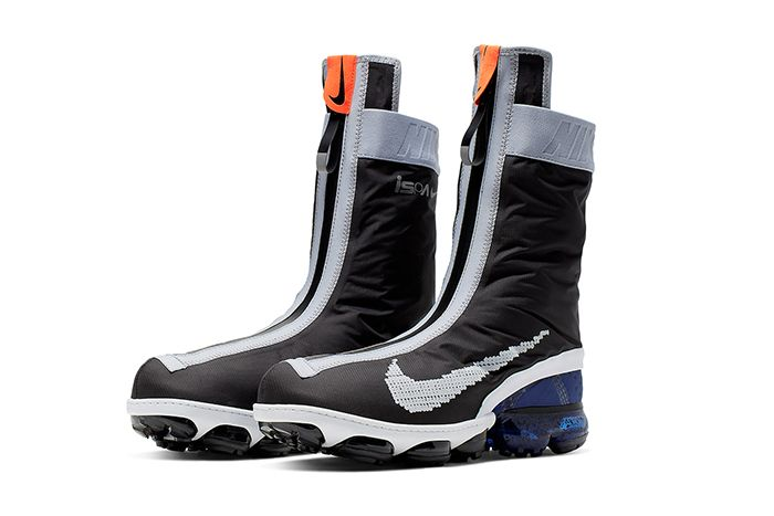 Nike Vapormax Gator Ispa Black White Ar8557 002 Release Date Pair