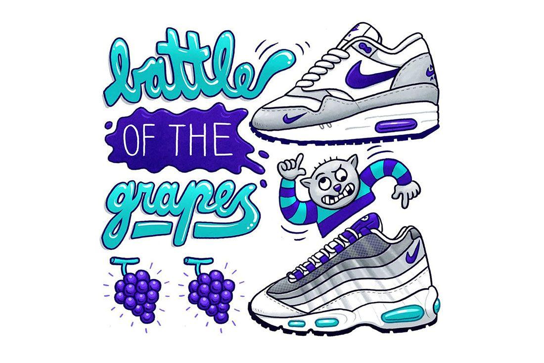 Jonas Cozone Sneaker Battle Grapes
