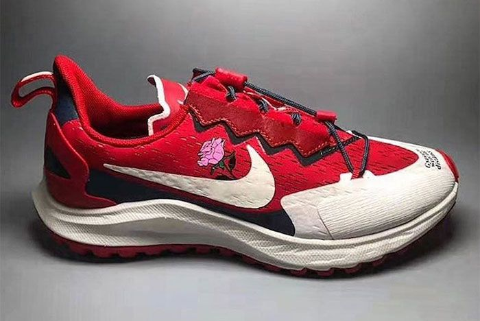 Nike Gyakusou Went The Distance Red Lateral