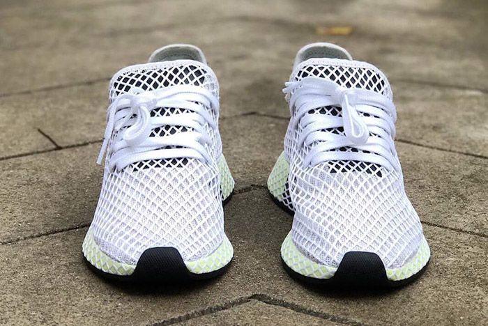 Adidas Deerupt Net White Black 1