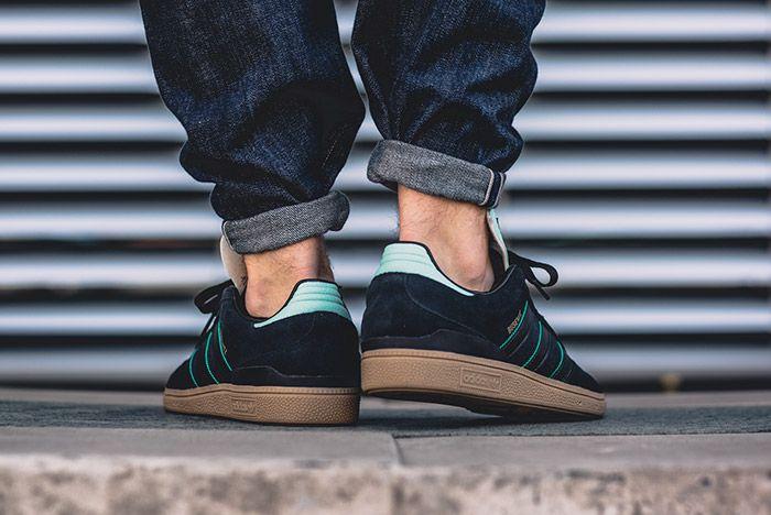 Adidas Busenitz Black Ice Green Gum 5