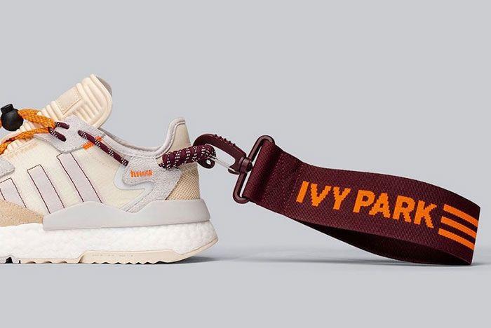 Beyonce Ivy Park Adidas Nite Jogger Fx3158 Lateral Heel Side Shot