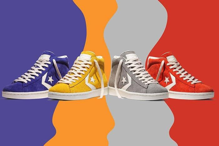 Converse Pro Leather 76 Vintage Suede Pack