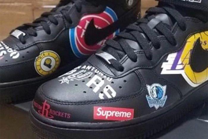 Supreme Nike Air Force 1 Nba 3