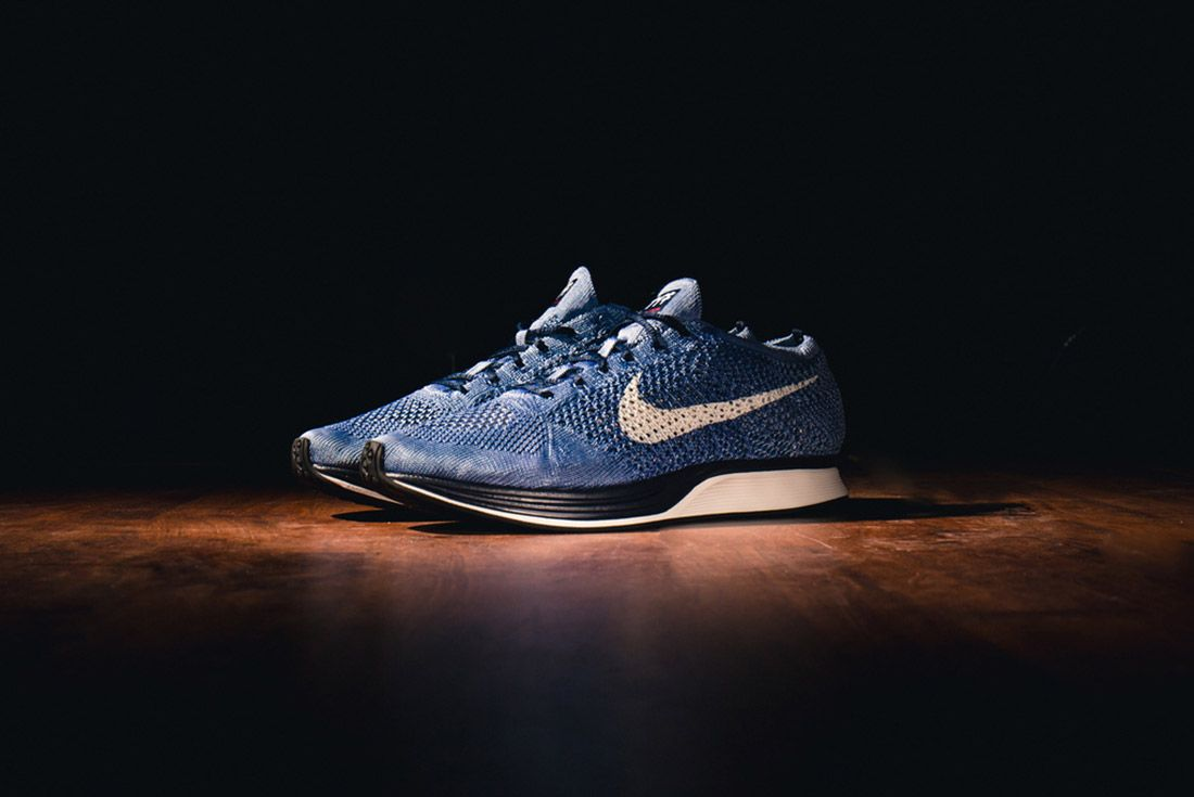 Material Matters Dye And Colour Indigo Flyknit Racer 2