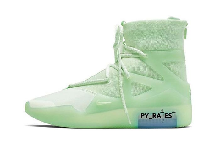 Nike Air Fear Of God 1 Spruce Frosted Left