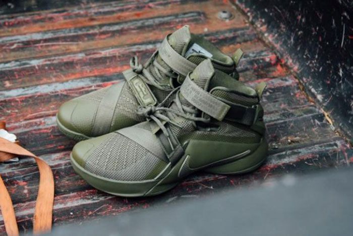 Nike Lebron Zoom Soldie 9 Olive 8