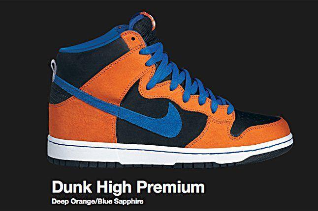 Nike Deep Orange Dunk Hi Sb 2010 1