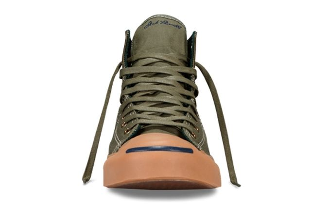 Converse Jack Purcell Duck Boot Grape Leaf Front