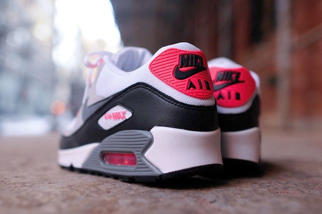 Nike Air Max 90 Essential Cl Grey Infrared 2