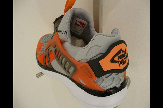 Puma Disc Blaze Ltwt Orange Heel 1