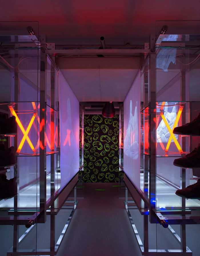 Titolo Launches Kaws X Air Jordan 4 Pop Up In Zurich