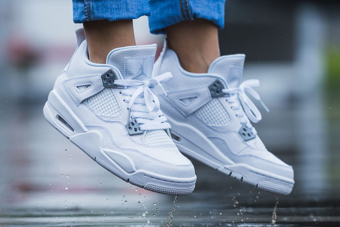 Up Close With The Air Jordan 4 Pure Money9