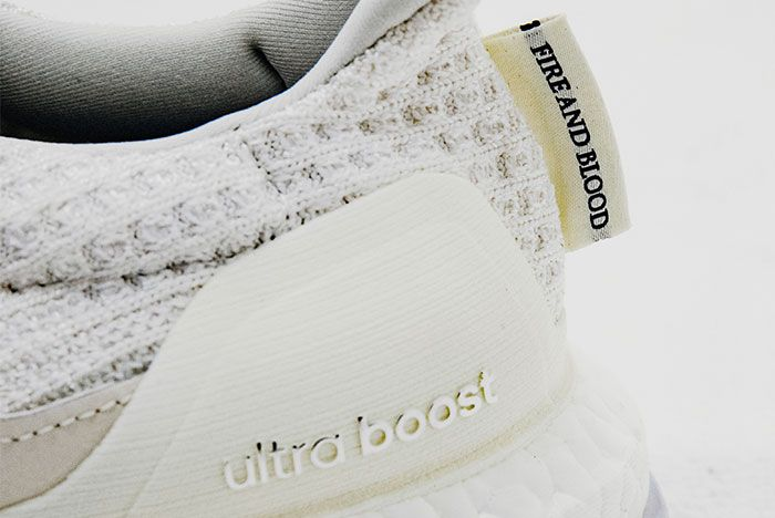 Game Of Thrones X Adidas Ultra Boost On White House Tagaryen White Up Close3
