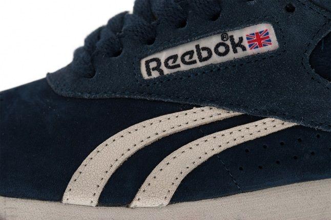 Reebok Freestyle Hi Italy Navy Midfoot Detail 1