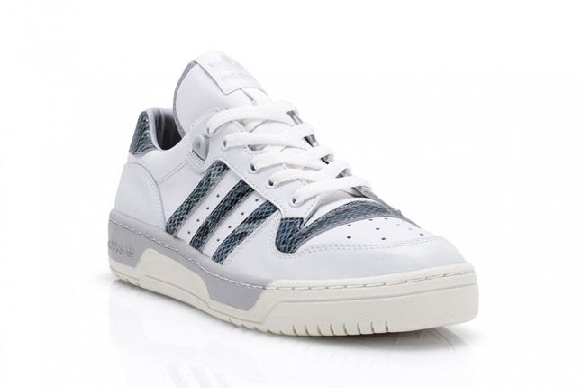 Grey Adidas Rivalry Lo Limited Edition Quater Front 1