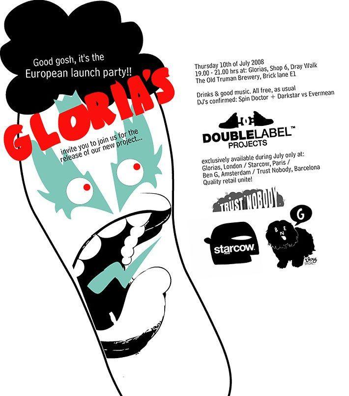 Glorias X Dc Launch 1
