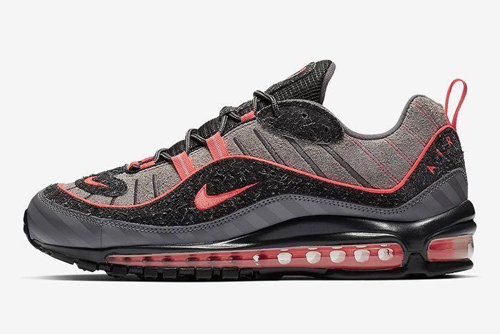 Nike Air Max 98 I 95 Gunsmoke Lava 1