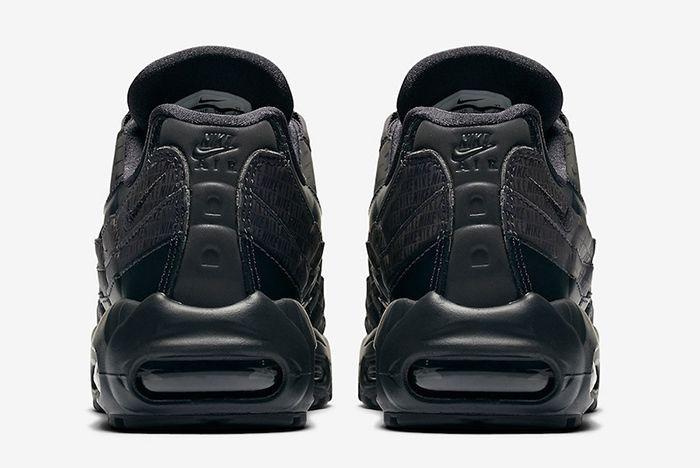 Nike Air Max 95 Black All Over Logos 5