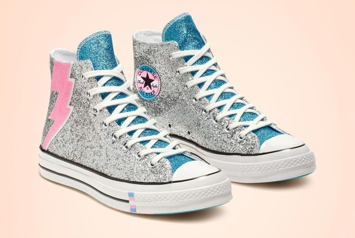 Chuck 70 Pride High Top Glitter Pair
