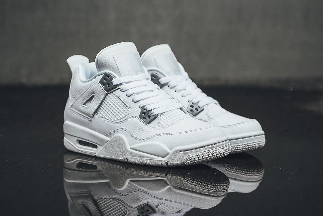 Up Close With The Air Jordan 4 Pure Money11