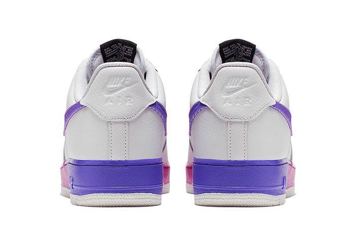 Nike Air Force 1 07 Lv8 Purple Heel