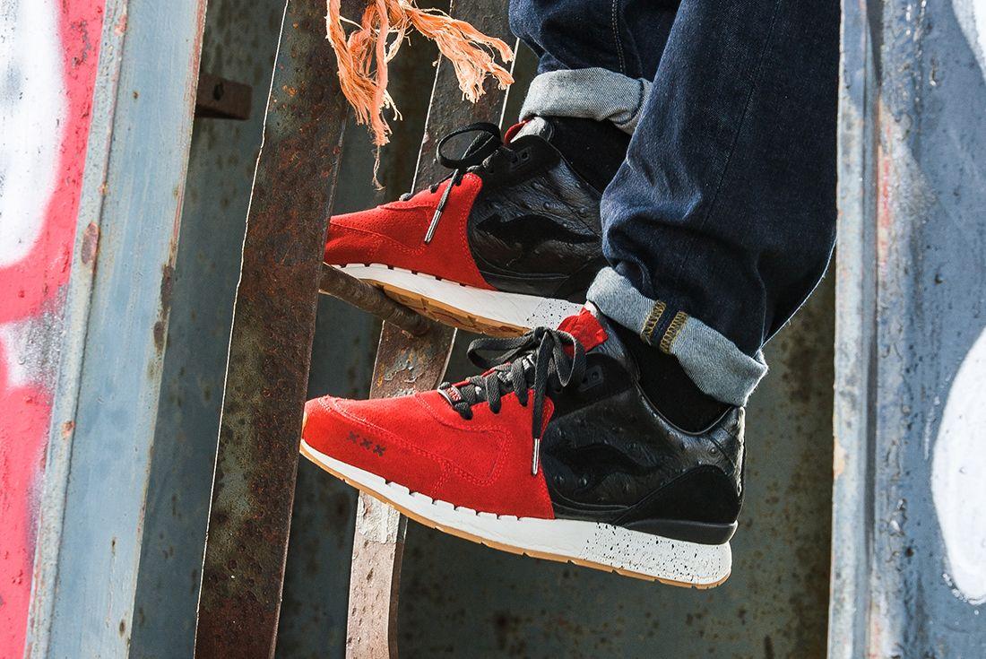 Sneaker Baas X Kanga Roos Coil R 2 Sin City5