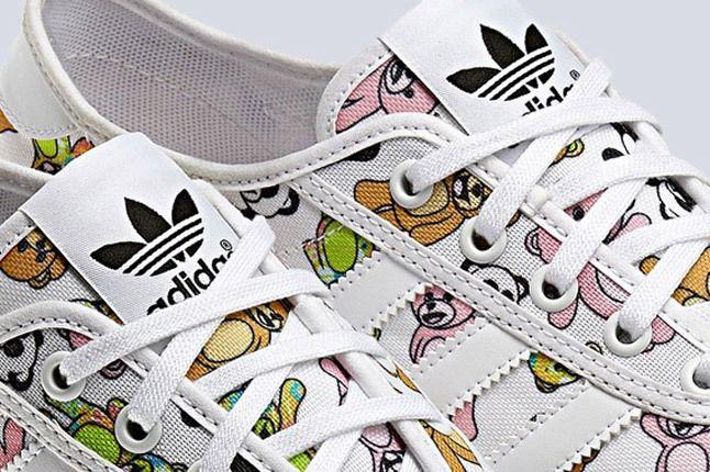 Jeremy Scott X Adidas Originals Js P Sole Bear Print Tongue 1