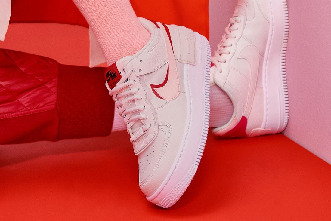Nike Air Force 1 Shadow Interview Reveal Crossed Legs