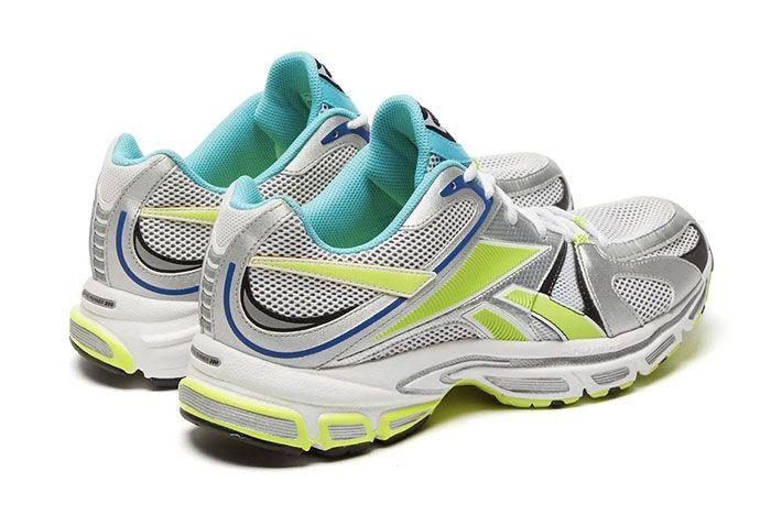 Vetements Reebok Spike Runner 200 Lime Heel