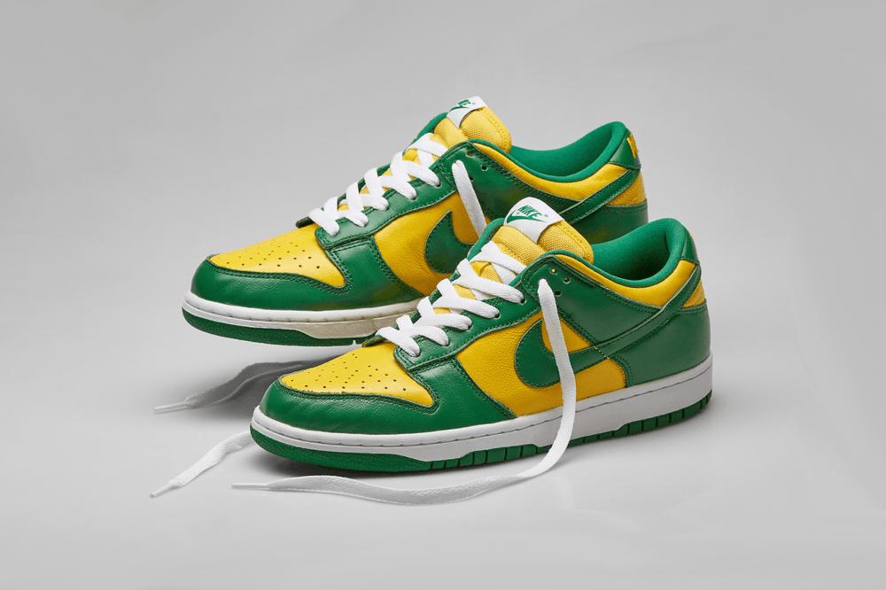 Nike Dunk Low Brazil Angled