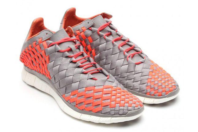 Nike Free Inneva Woven Spring 2013 Orange Pair 1