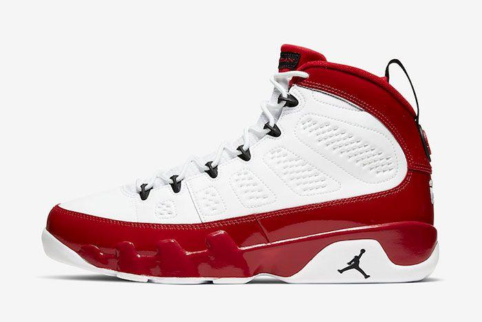 Air Jordan 9 Gym Red 302370 160 Lateral