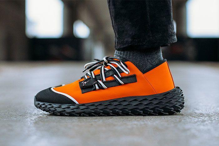 Zanotti Urchin Orange Sneaker Freaker1