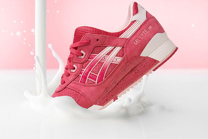 Asics Gel Lyte Iii Strawberries And Cream Valentines