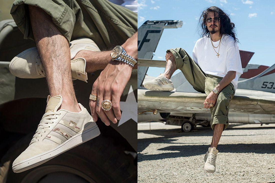 Undftd Adidas Busenitz Desert Camo 5