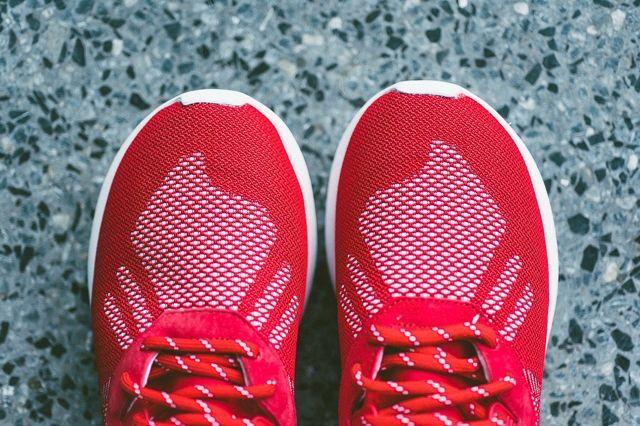 Adidas Tubular Runner Weave Scarlet 3