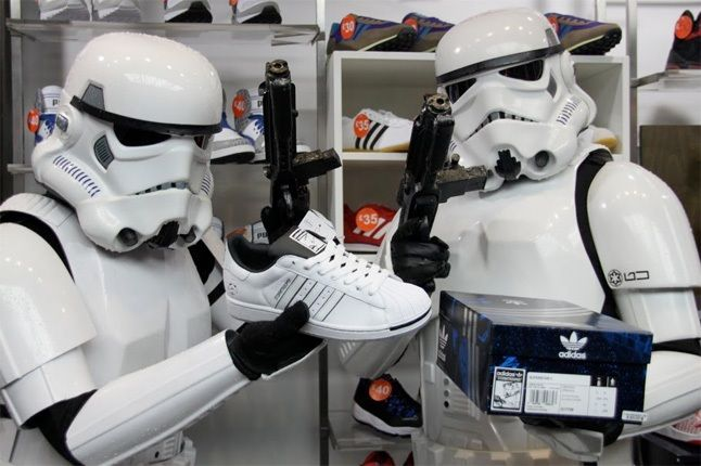 Adidas Size Star Wars Storm Troopers 1