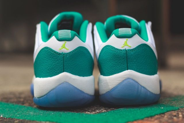 Air Jordan 11 Low Turbo Green Bump 3