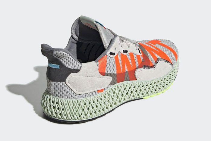Adidas Zx4000 4 D I Want I Can Heel Angle