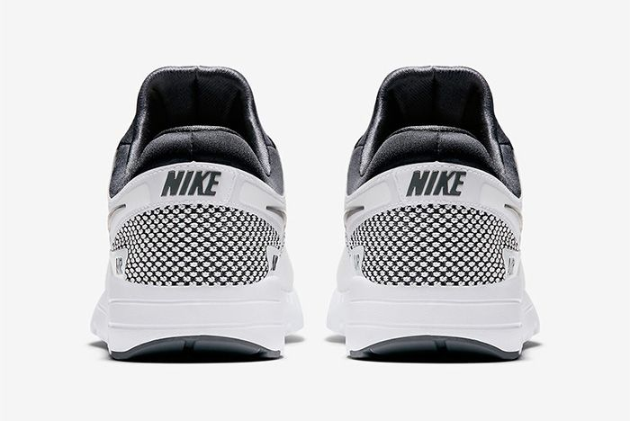 Nike Air Max Zero Dark Grey Summit White Red 2