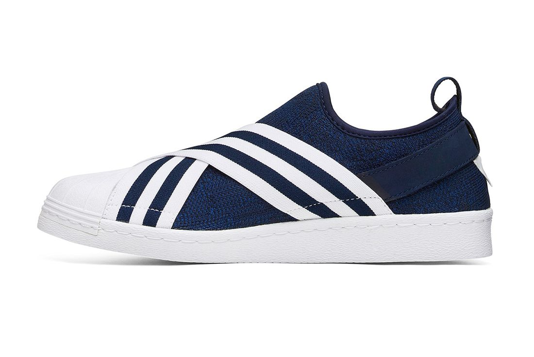 White Mountaineering X Adidas Superstar Slip On 3